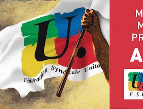 grève le 9 mai: l'Éducation mobilisée avec toute la Fonction publique!