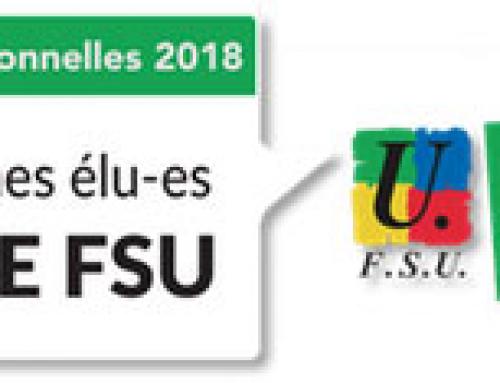 Votez FSU : une vidéo à partager