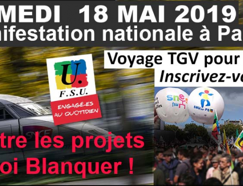 Samedi 18 mai à Paris : de plus en plus nombreux dans l'action