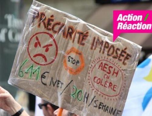 Journée de grève pour les AESH le jeudi 3 juin 2021